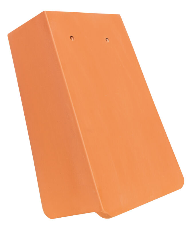 AMBIENTE straight cut verge tile 1 1/4 right with long side lobe approx. 11 cm