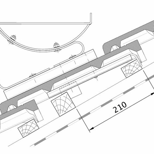 Product technical drawing HEIDELBERG FUK PROFILIERTE-BDS