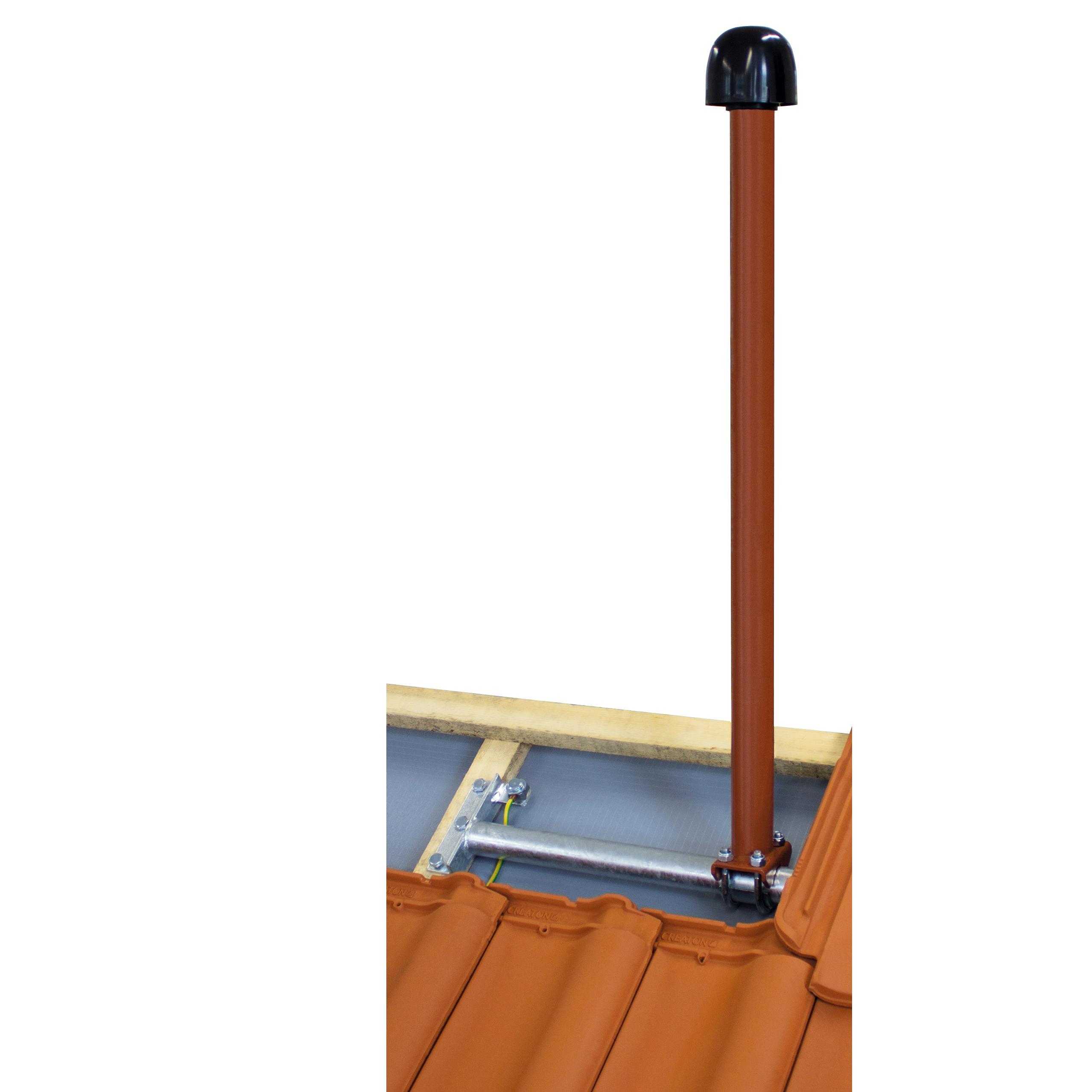 Antennenmast Dachziegel