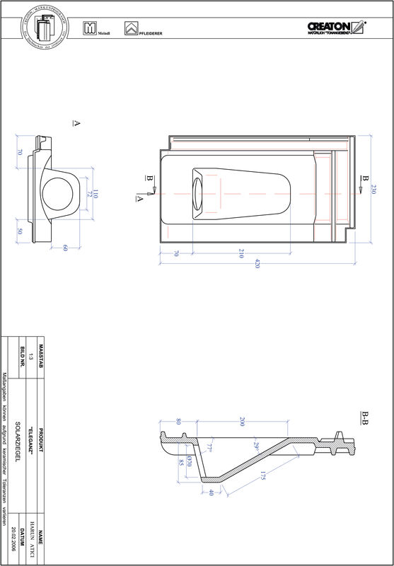 Product CAD file ELEGANZ Solar SOLAR