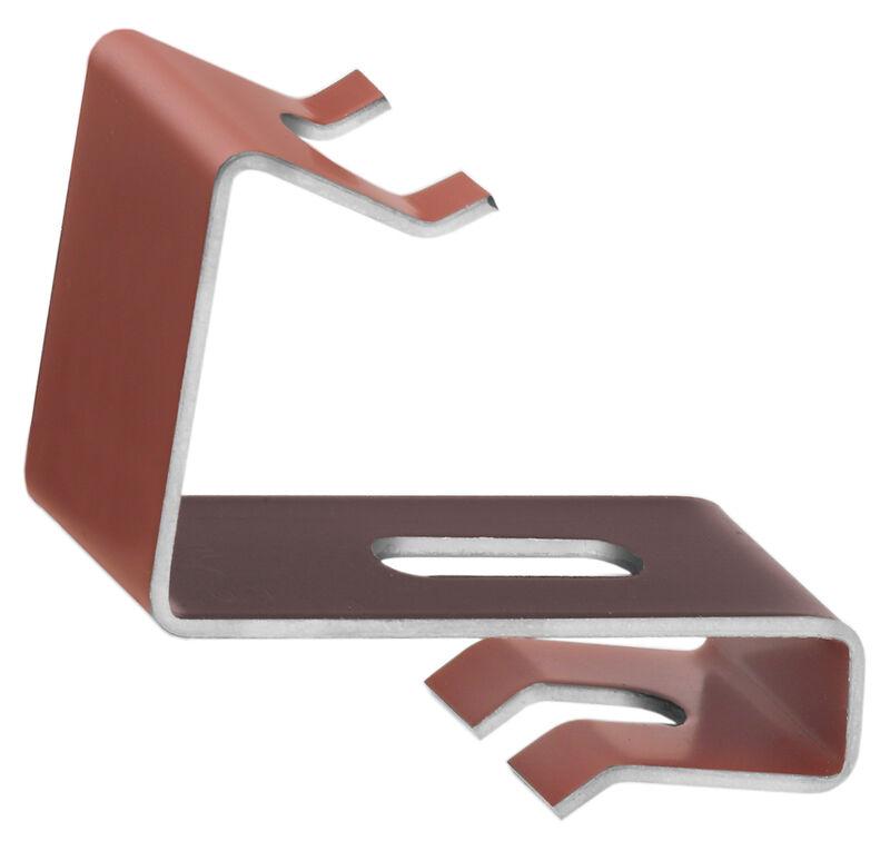 Ridge clip aluminium PZ