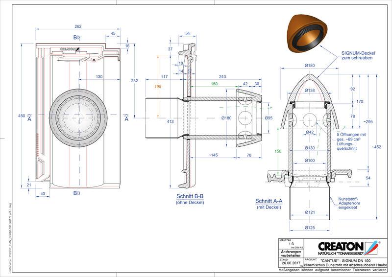 Product CAD file CANTUS Signum 100