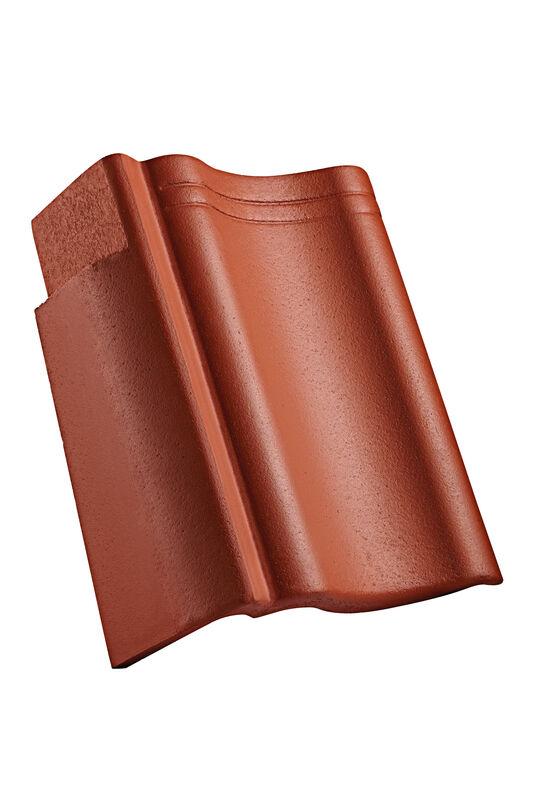 VER concrete verge tile right 90 mm notch