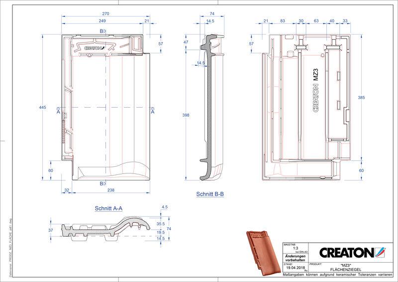 Product CAD file MZ3 NEU field FLA