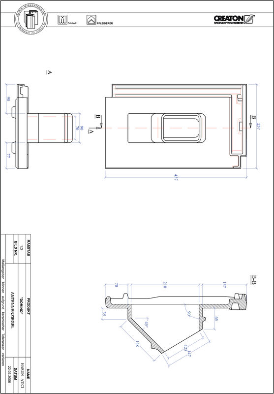 Product CAD file DOMINO Aerial ANTENNE