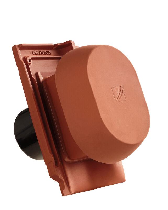 MZ3 KLASSIK SIGNUM ceramic vapour vent DN 150/160 mm incl. sub-roof connection adapter