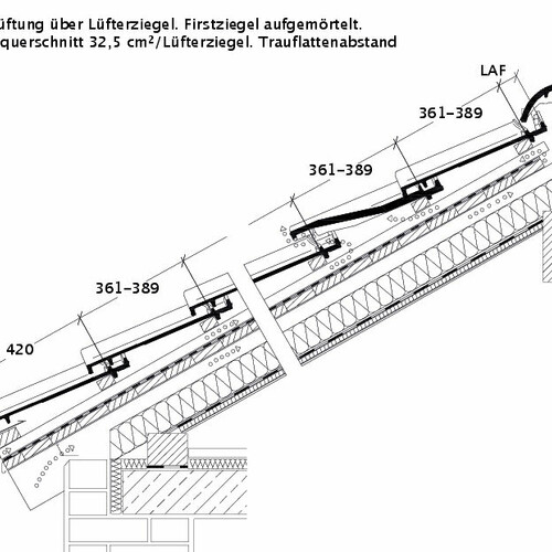 Product technical drawing SINFONIE DQL DQL
