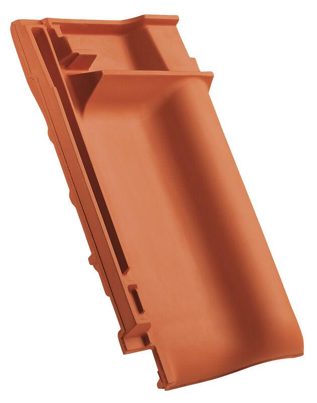 PRE ridge connection ventilating tile