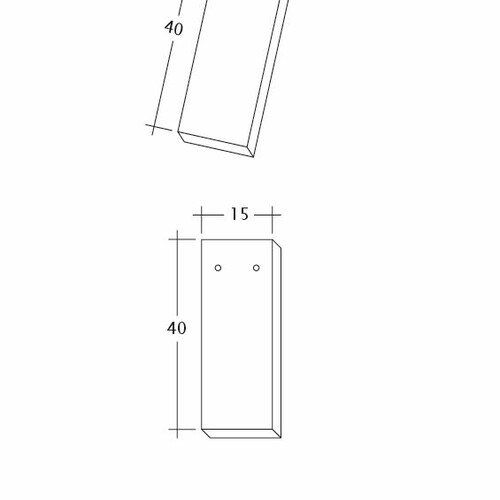 Product technical drawing AMBIENTE Ger-3-4