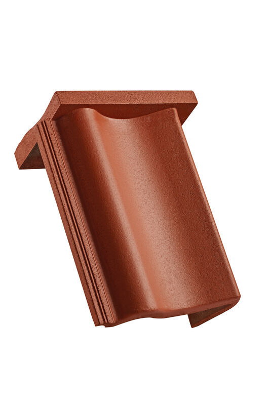 VER concrete shed roof verge tile right