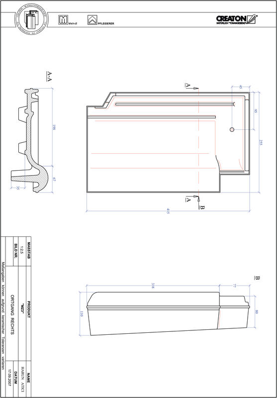 Product CAD file MZ3 verge right OGR
