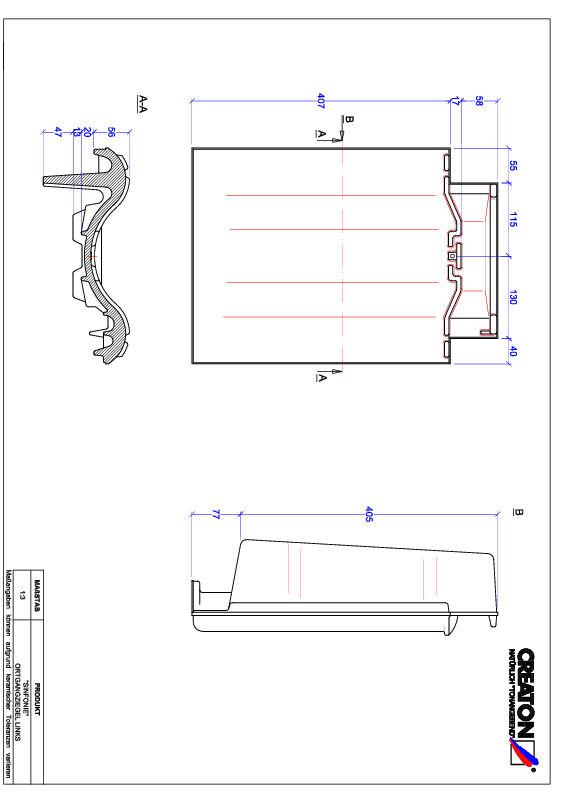Product CAD file SINFONIE verge left OGL
