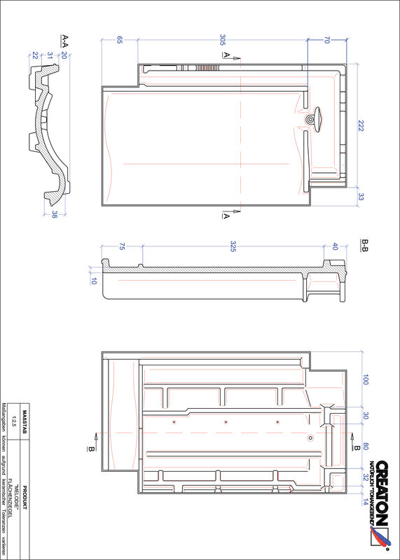 Product CAD file MELODIE field FLA