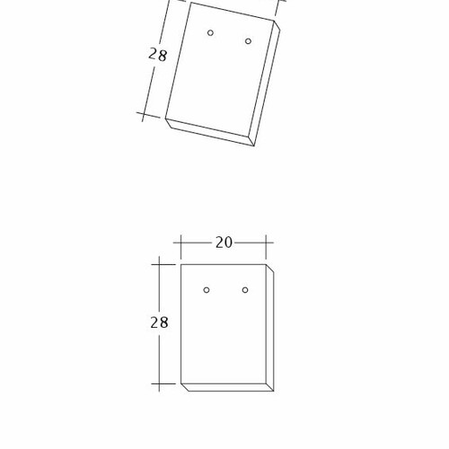 Product technical drawing AMBIENTE Ger-Traufziegel