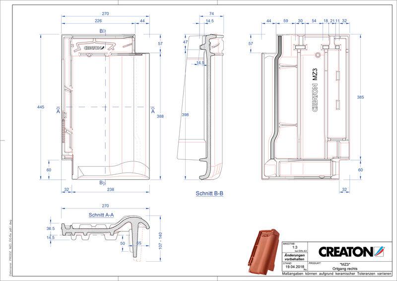Product CAD file MZ3 NEU verge right OGR