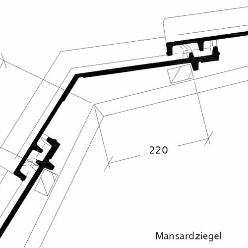 Product technical drawing SINFONIE MAZ