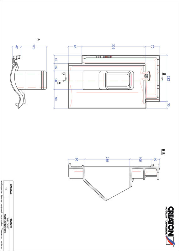 Product CAD file MELODIE Aerial ANTENNE