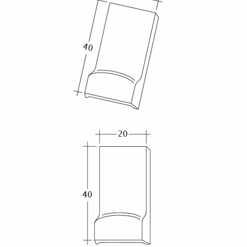 Product technical drawing AMBIENTE Ger-LUEFTZ