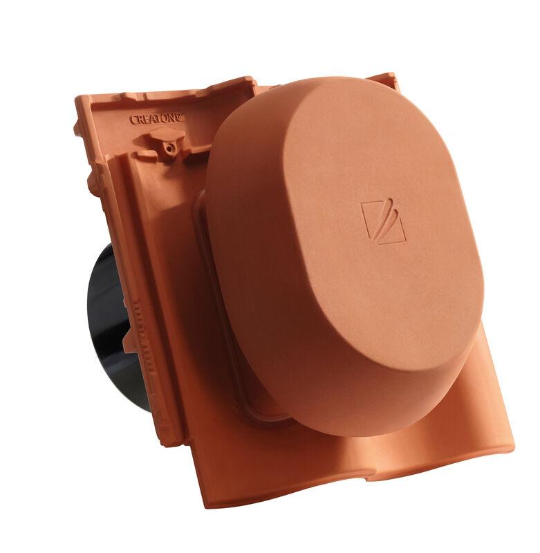 MEL SIGNUM ceramic vapour vent DN 200 mm, incl. sub-roof connection adapter