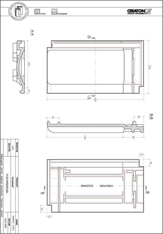 Product CAD file ELEGANZ field FLA
