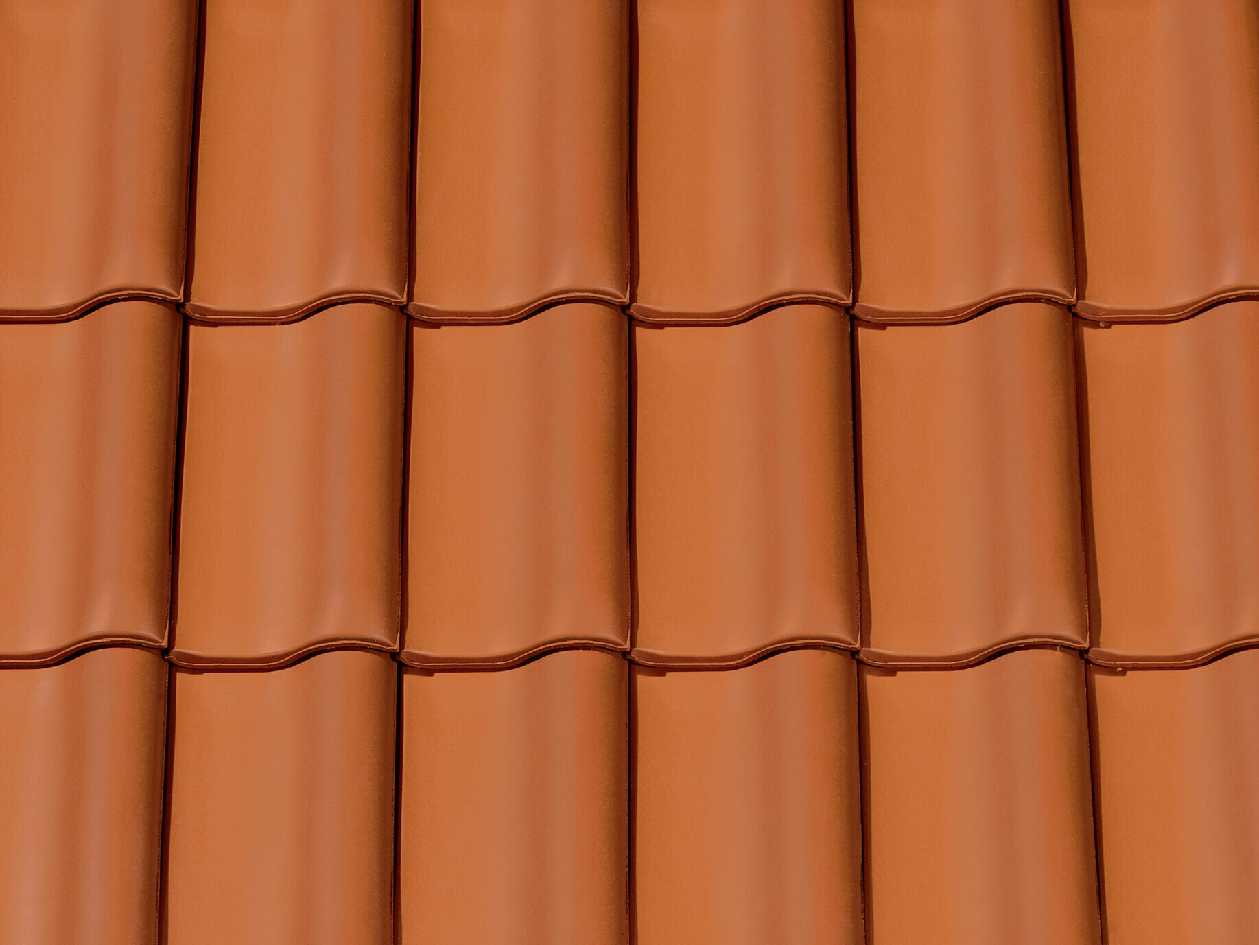 Clay tile natural red
