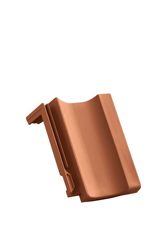 CAN shed roof verge tile decorated standard right