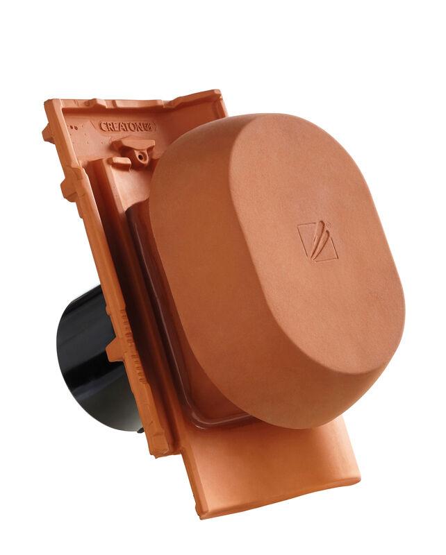 MEL SIGNUM ceramic vapour vent DN 150/160 mm incl. sub-roof connection adapter