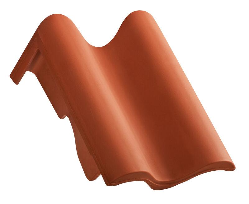 MEL shed roof verge tile decorated standard left