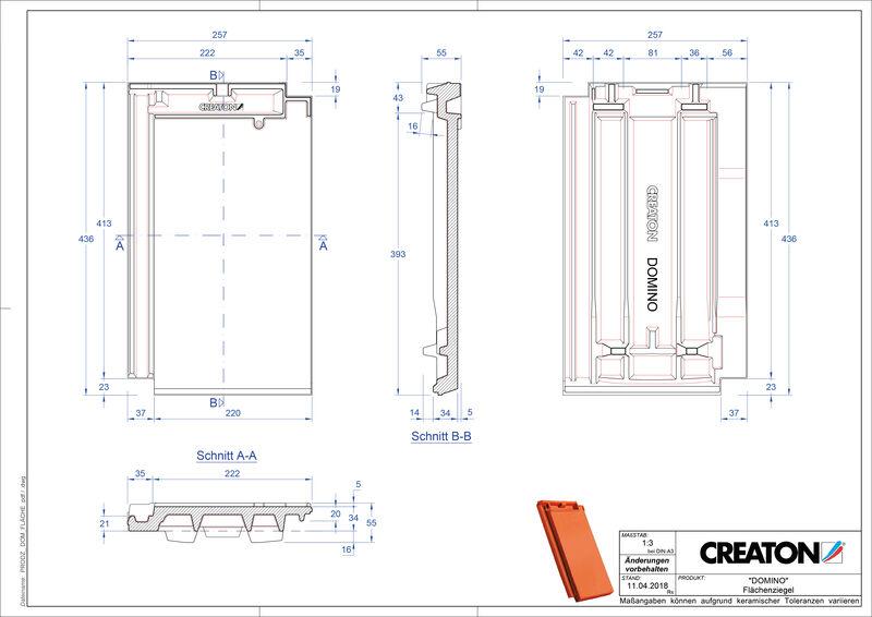 Product CAD file DOMINO field FLA