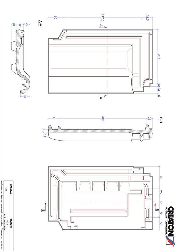 Product CAD file MZ3 field FLA