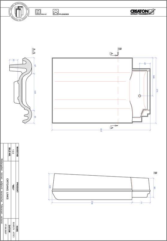Product CAD file MZ3 verge left OGL
