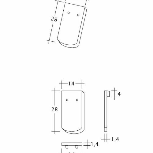 Product technical drawing MANUFAKTUR TUBI-1-1