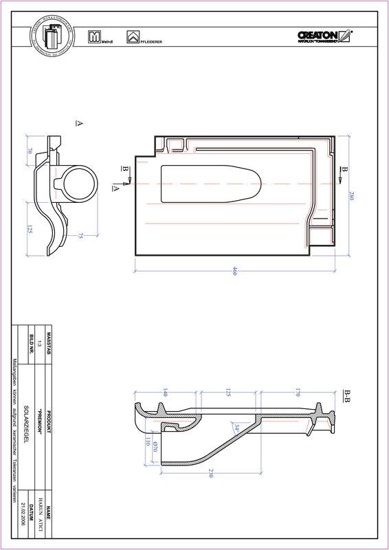 Product CAD file PREMION Solar SOLAR