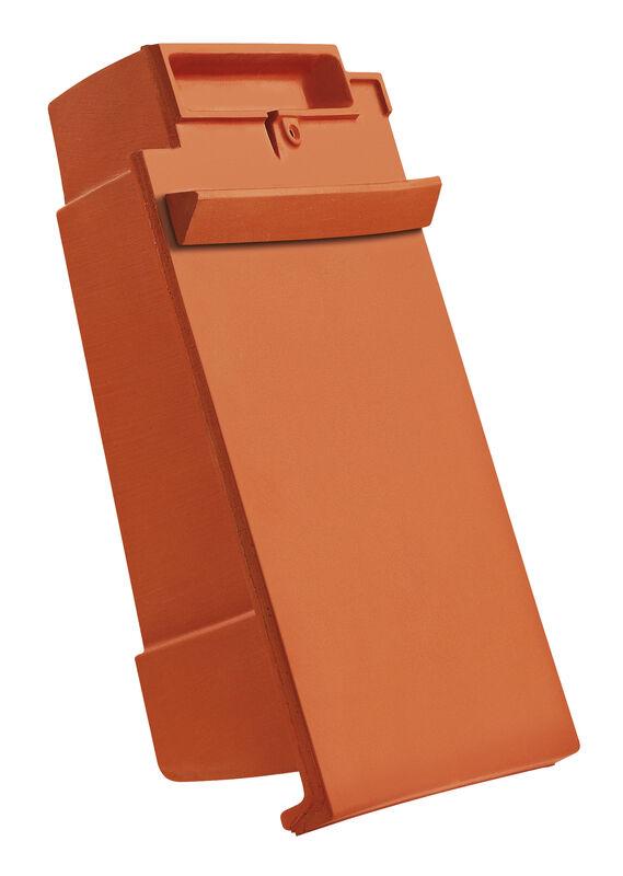 DOM ridge connection ventilating verge tile right