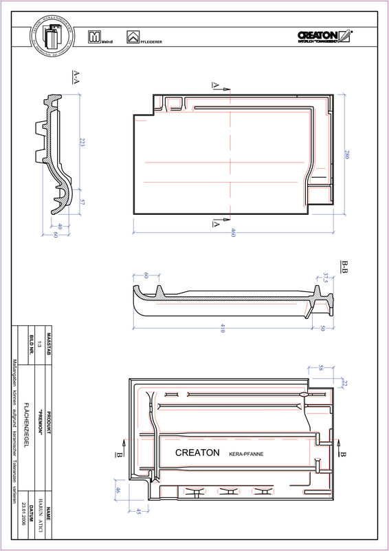 Product CAD file PREMION field FLA