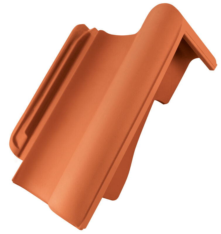 HAR shed roof verge tile decorated standard right