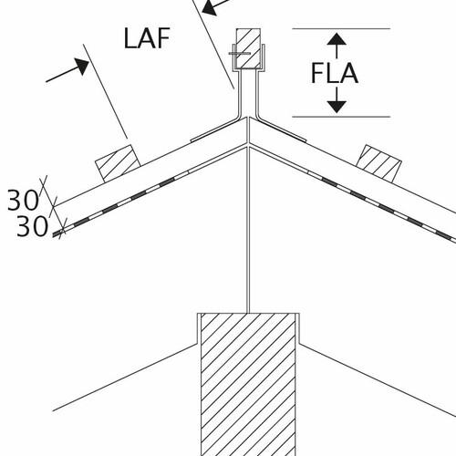 Product technical drawing all models LAF-FLA