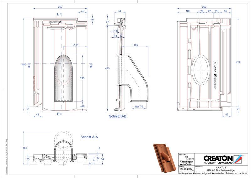 Product CAD file CANTUS Solar SOLAR