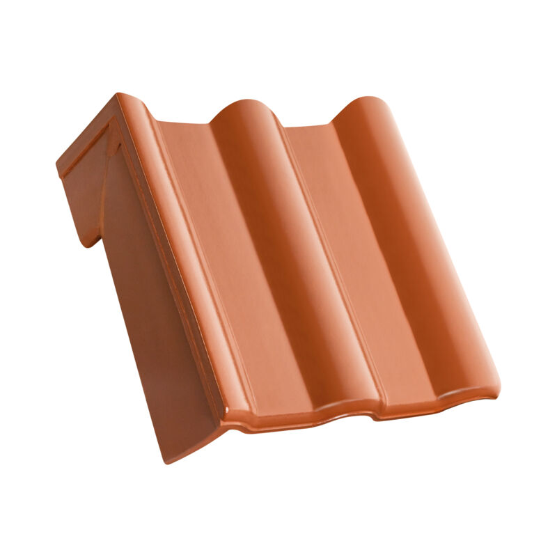 MAX shed roof verge tile decorated standard right
