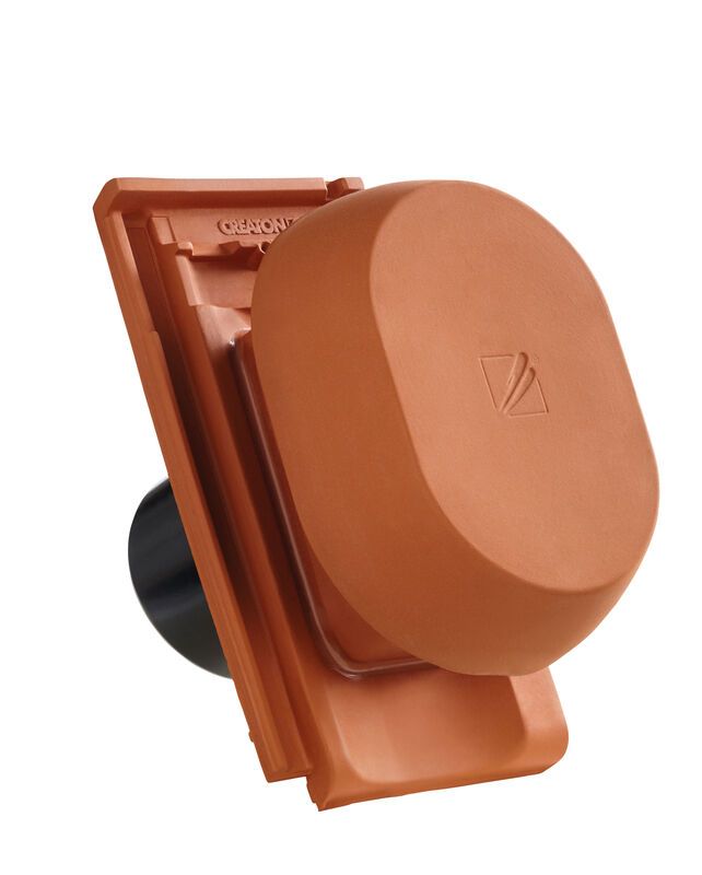 ELE SIGNUM ceramic vapour vent DN 150/160 mm incl. sub-roof connection adapter