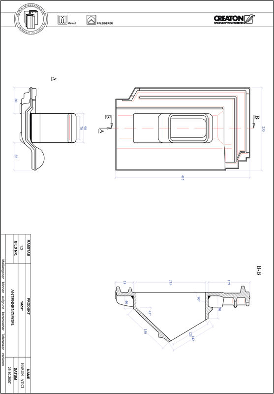 Product CAD file MZ3 Aerial ANTENNE