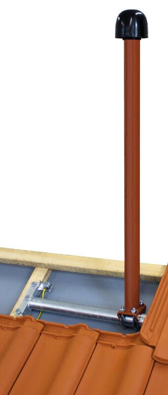 Satellite and aerial mast galvanised or colour coated