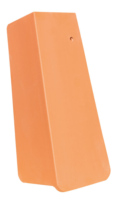 AMBIENTE straight cut verge tile 3/4 right with long side lobe approx. 11 cm