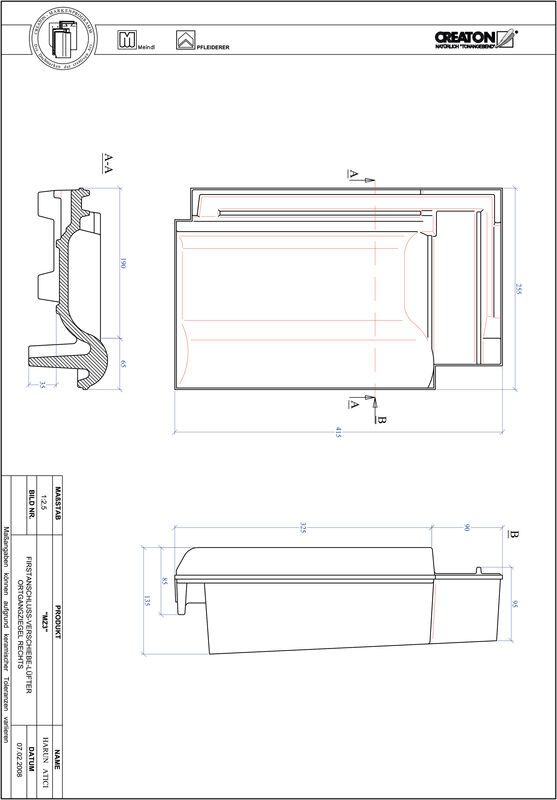 Product CAD file MZ3 adjustment range, verge right VSBOGR