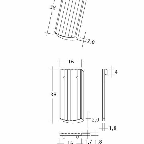 Product technical drawing PROFIL Berliner-Seg-1-1