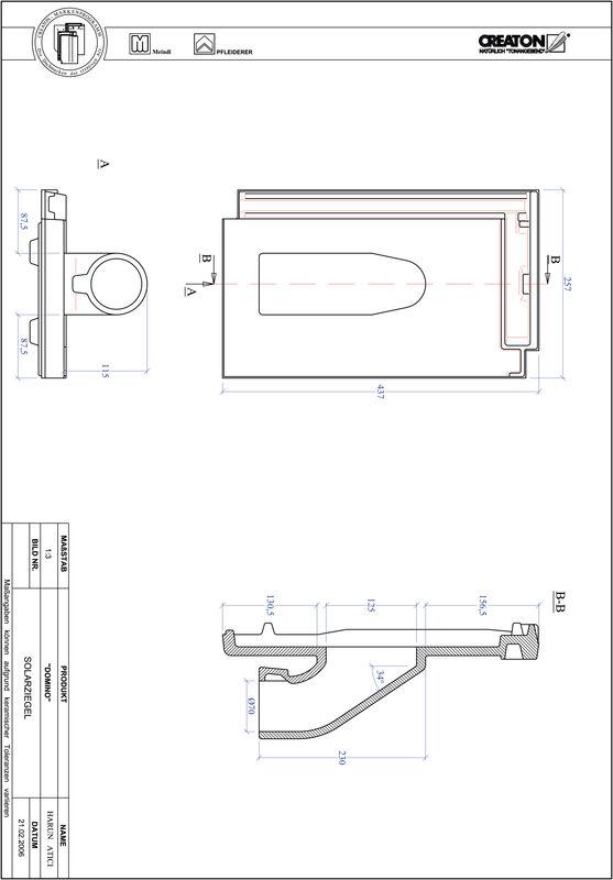 Product CAD file DOMINO Solar SOLAR
