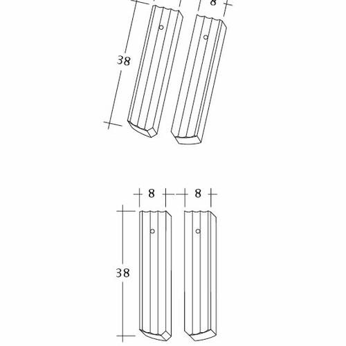 Product technical drawing PROFIL Berliner-Seg-1-2