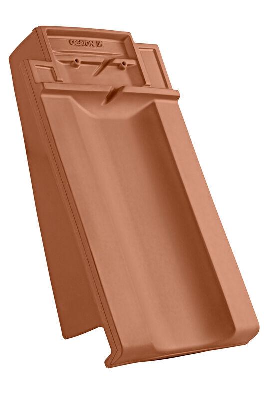 CAN ridge connection ventilating verge tile left