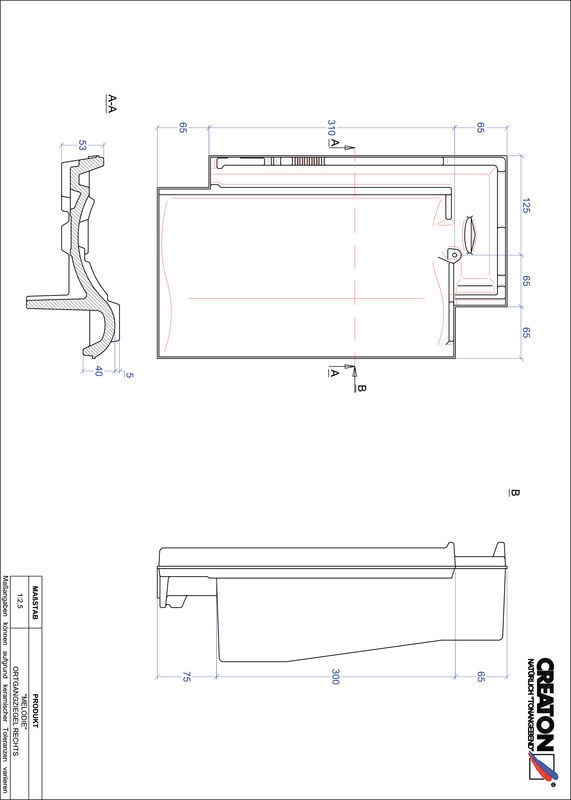 Product CAD file MELODIE verge right OGR